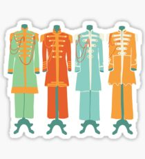 The Beatles - Sgt Peppers Lonely Hearts Club Band Sticker