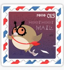 Special Delivery ~ Owl Post! Sticker