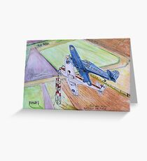 King's Cup Air Race 1950s Greeting Card
