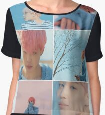 Jimin Spring Day Colours - 봄날 Chiffon Top