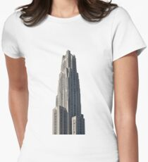 Cathedral of Learning Women's Fitted T-Shirt