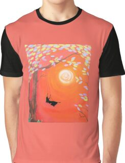 Free Afternoon Graphic T-Shirt