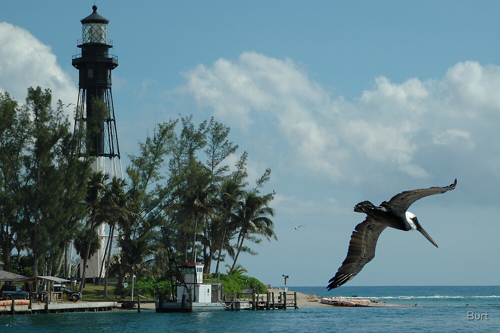 Pelcan Lighthouse by Burt