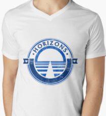 Horizons Epcot Faded T-shirt Men's V-Neck T-Shirt