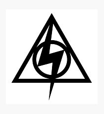 Deathly Hallows Potter Photographic Print