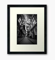 The Shambles Framed Print