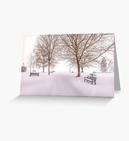 A Beautiful Winter's Morning  Greeting Card
