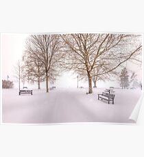 A Beautiful Winter's Morning  Poster