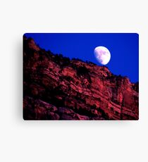 Nightly Grand Canyon Canvas Print