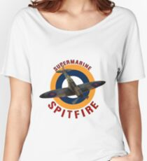 Supermarine Spitfire  Women's Relaxed Fit T-Shirt