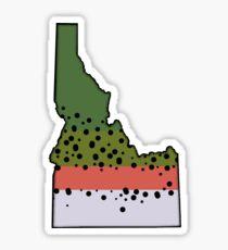 Pegatina Idaho Rainbow Trout Love