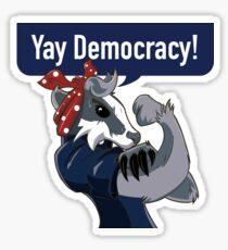 Badger Stickers Sticker