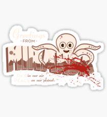 Greetings FromMiranda Sticker