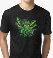 R'YLEH: NEVERDIE Tri-blend T-Shirt