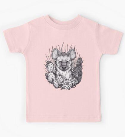 Hyena & Arid Plants Kids Clothes
