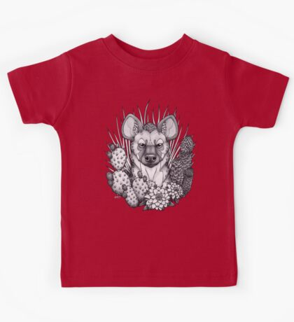 Hyena & Arid Plants Kids Clothes
