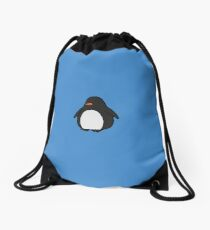 Adorable Penguin - Cute animal merchandise Drawstring Bag
