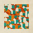Little House Pattern (Set 01) by FendellPosters