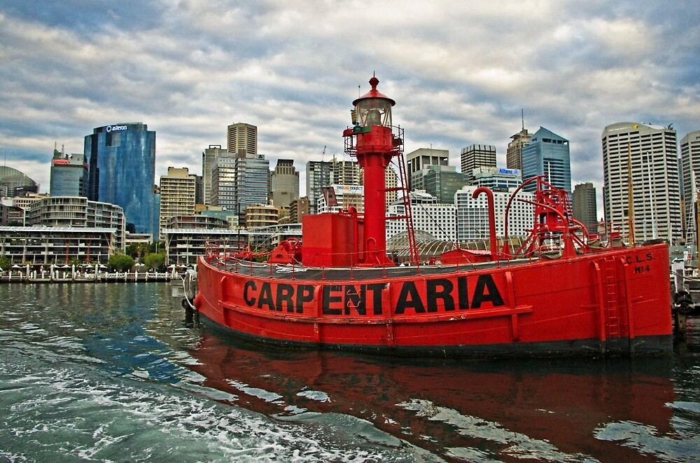 Carpentaria - Light Ship CLS4 in Retirement by TonyCrehan
