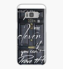 What's the Point in Being Clever...? Samsung Galaxy Case/Skin