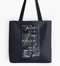 What's the Point in Being Clever...? Tote Bag