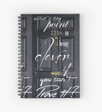 What's the Point in Being Clever...? Spiral Notebook