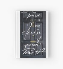 What's the Point in Being Clever...? Hardcover Journal