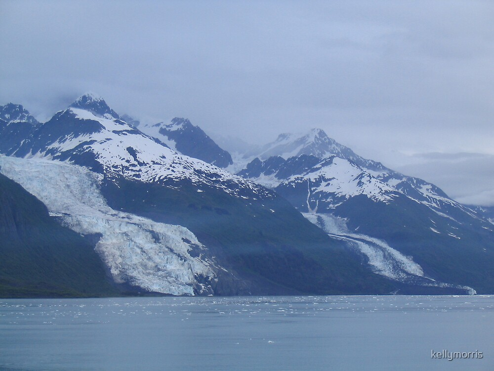 Glaciers Along the Water by kellymorris