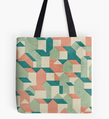 Little House Pattern (Set 02) Tote Bag