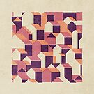 Little House Pattern (Set 03) by FendellPosters