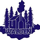 Walden - Henry David Thoreau (Blue version) by Printables Passions