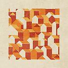 Little House Pattern (Set 04) by FendellPosters