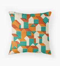 Little House Pattern (Set 01) Throw Pillow