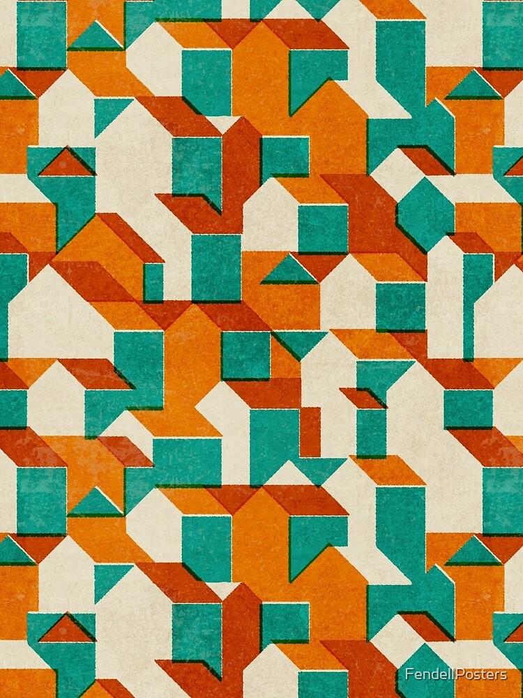 Pequeño patrón de casa (Set 01) de FendellPosters