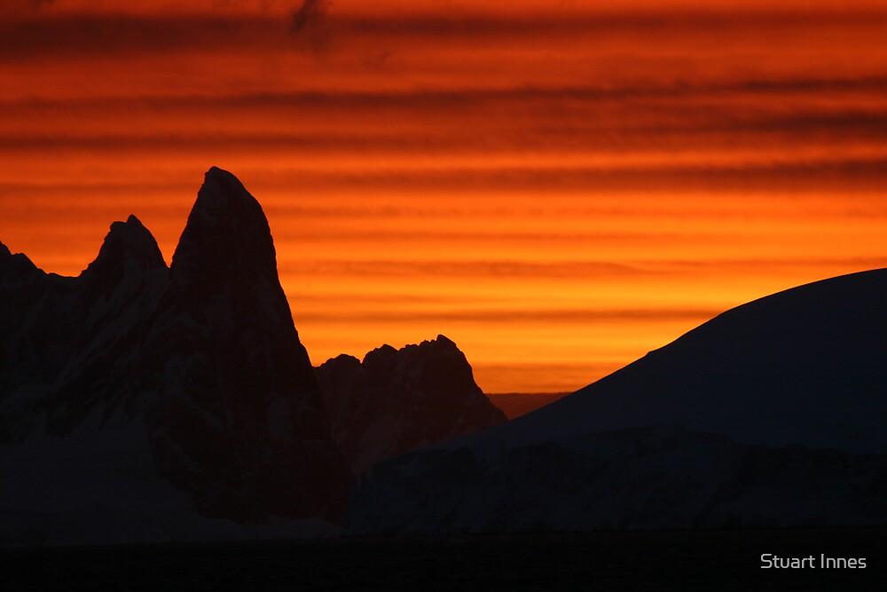 Antarctic sunset by Stuart Innes
