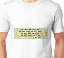 Dr. Seuss Quote - Reading Unisex T-Shirt