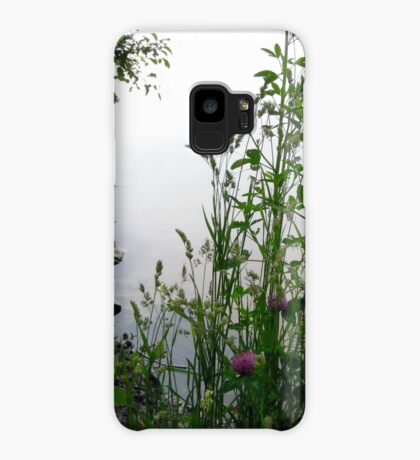 Grass on the banks of the Rideau River, Ottawa 2 Case/Skin for Samsung Galaxy