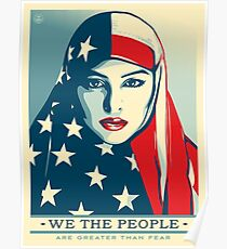 We the people - Greater than fear Poster