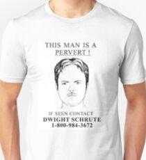 pervert dwight Unisex T-Shirt