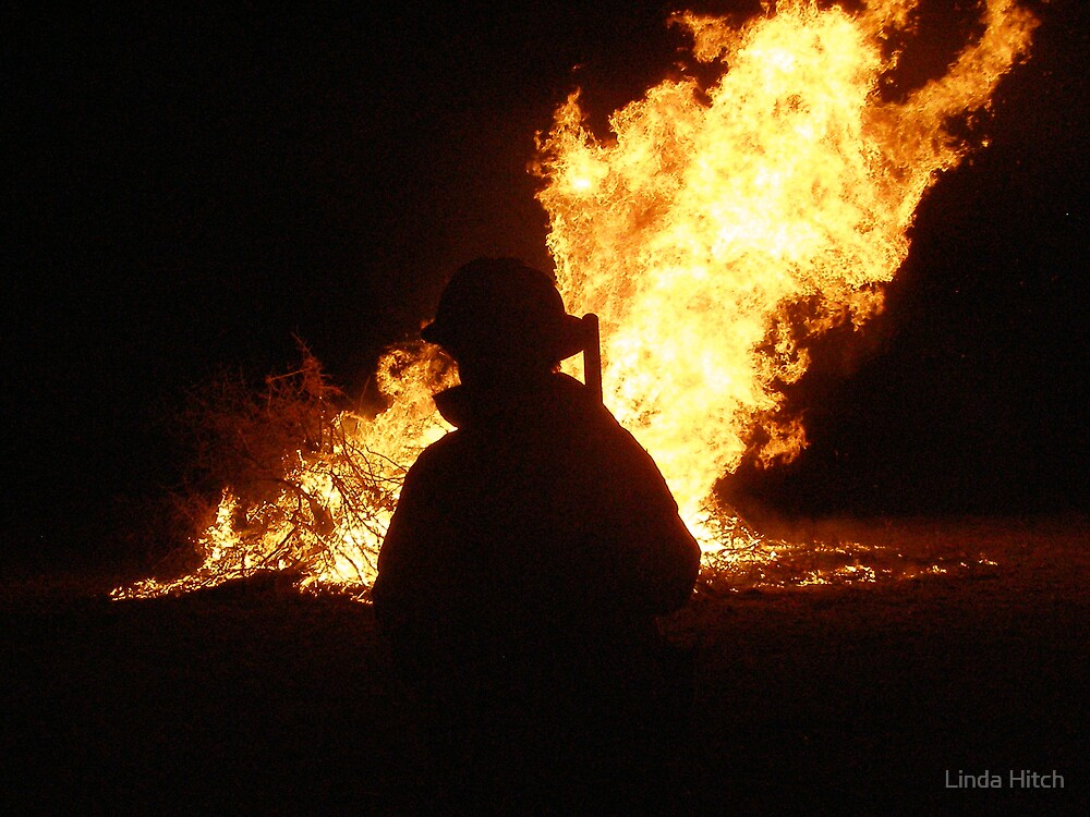 On fire watch by Linda Hitch