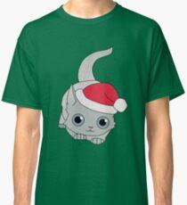 Christmas Cat Classic T-Shirt