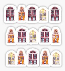 Houses Pattern Sticker