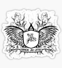 Gracie Jiu Jitsu BJJ Sticker