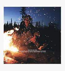 Moose Blood Photographic Print