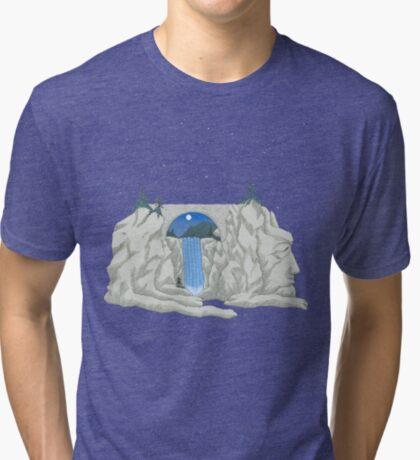 Patience Stone Lion Tri-blend T-Shirt