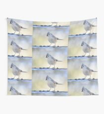 Winter guest Wall Tapestry