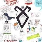 The Mortal Instruments collage by dictionaried