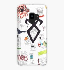 The Mortal Instruments collage Case/Skin for Samsung Galaxy