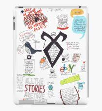 Vinilo o funda para iPad El collage de Mortal Instruments