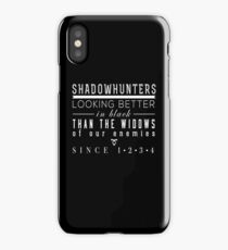 """The Mortal Instruments: """"Shadowhunters"""" iPhone Case/Skin"""